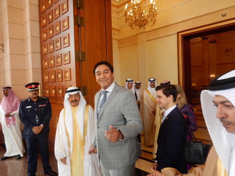 Meet with Diplomats